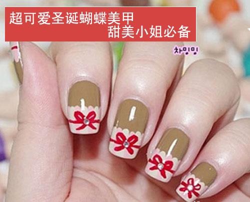 首页 形象指南 > 美甲常识   上海化妆学校——超可爱蝴蝶美甲